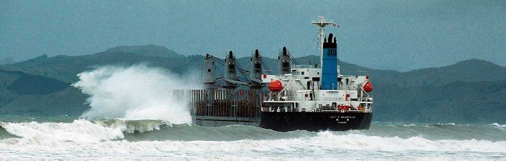 Jody F Millennium in rough seas
