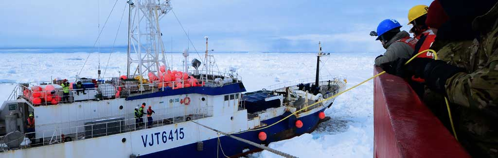 Rescuing the Antarctic Chieftain