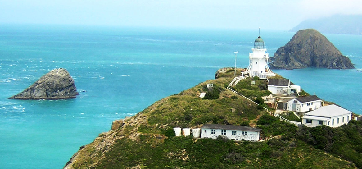 The Brothers Island lighthout was the last manned lighthouse in New Zealand.