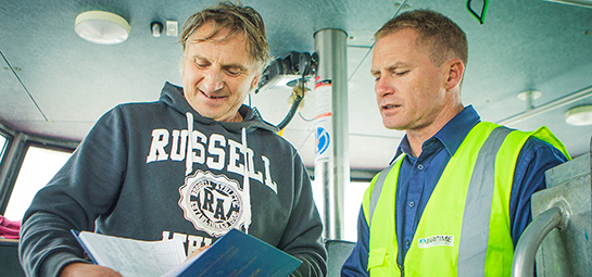 Maritime NZ administers HSWA and Health and Safety at Work Act 2015
