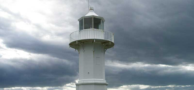 Tuhawaiki (Jacks) Point lighthouse