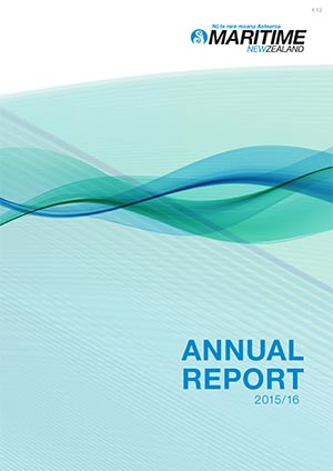 Read the latest Annual Report from Maritime New Zealand.