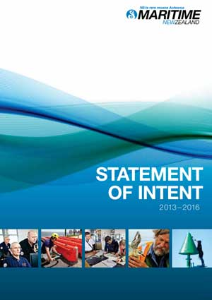 Maritime New Zealand Statement of Intent.