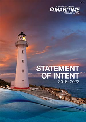 Read the latest Statement of Intent from Maritime New Zealand.