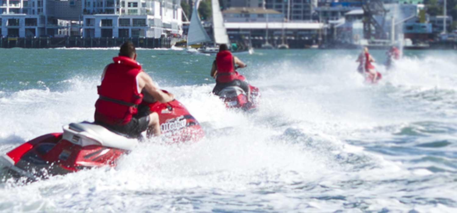 Personal water craft, often called jet skis, are one of the fastest-growing activities on the rivers, harbours and lakes of New Zealand.